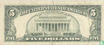 Verenigde Staten 5 dollars 1988 B