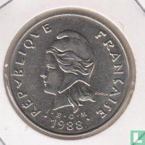 Frans-Polynesië 50 francs 1988