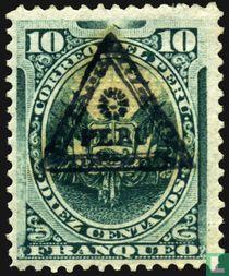 """Wappen mit Dreieck """"Peru"""""""