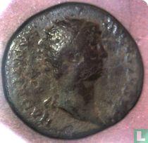 Romeinse Rijk, AE Dupondius, 117-138 AD, Hadrianus, Rome, 134-138 AD