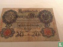 20 Mark Germany 1910
