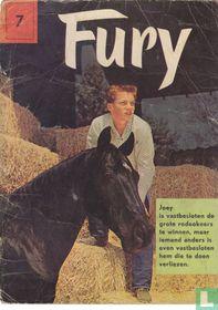 Joey is vastbesloten de grote rodeokoers te winnen, maar iemand anders is even vastbesloten hem die te doen verliezen.