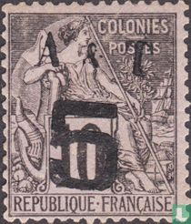 Allegory, type Alphée Dubois