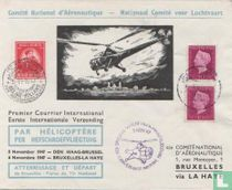 Den Haag - Brussel helicopter