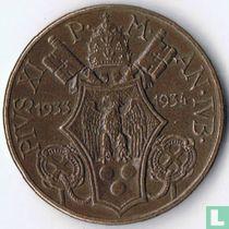 "Vaticaan 10 centesimi 1933 ""Jubilee Pius XI"""
