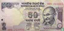 India 50 Rupees 2013