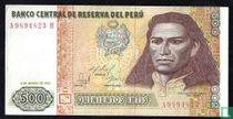 Peru 500 Intis 1986