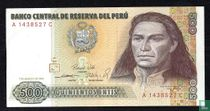 Peru 500 Intis 1985