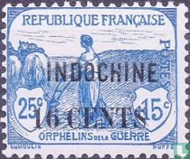 War orphans, with surcharge