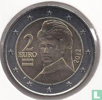 Austria 2 euro 2012