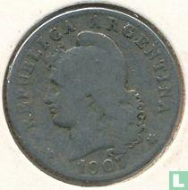 Argentinië 20 centavo 1907