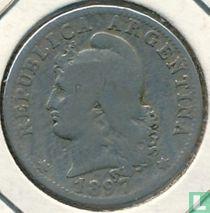 Argentinië 20 centavos 1897