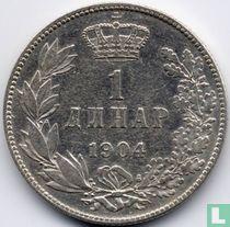 Servië 1 dinar 1904