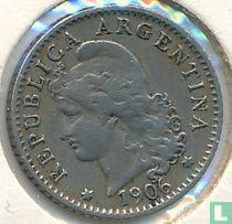 Argentinië 5 centavos 1906