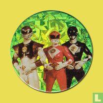 White Ranger, Pink Ranger & Black Ranger