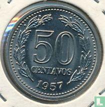 Argentinië 50 centavos 1957