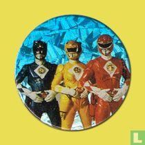 Blue Ranger, Yellow Ranger & Red Ranger