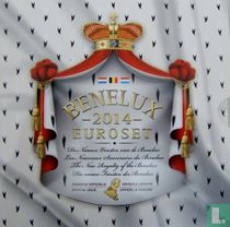 """Benelux mint set 2014 """"The New Royalty of the Benelux"""""""
