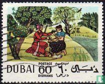Arabische miniaturen en houtsneden