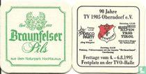 Braunfelser Pils / 90 Jahre TV 1995 Oberndorf e.V.