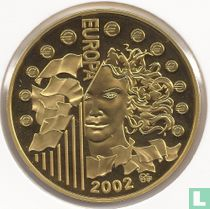 """France 50 euro 2002 (PROOF) """"Introduction of the euro"""""""