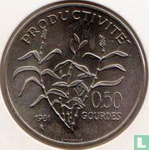 "Haïti 50 centimes 1981 ""FAO - World Food Day"""