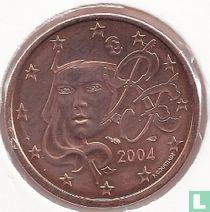 Frankrijk 5 cent 2004