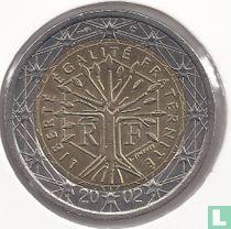 France 2 euro 2002