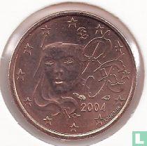 Frankrijk 1 cent 2004