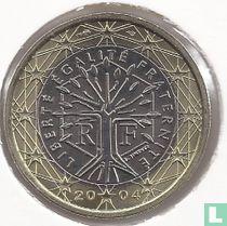 Frankrijk 1 euro 2004