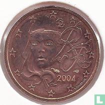 Frankrijk 2 cent 2004