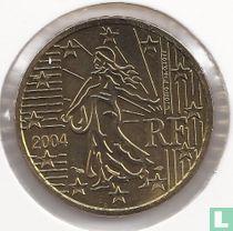Frankrijk 50 cent 2004