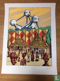 Le pavillon du Congo