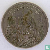Frankrijk 100 francs 1956 (zonder B)