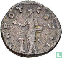 Romeinse Rijk, AR Denarius, 136-138 AD, Aelius als Caesar onder Hadrianus, Rome