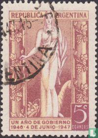 Lady Argentina (1 year presidency)