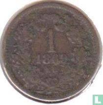Hongarije 1 krajczar 1869
