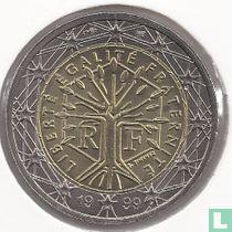 France 2 euro 1999