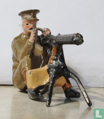 Machine Gun Section (sitting position)