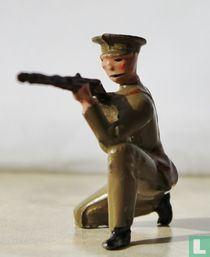British Infantry Peak Caps (kneeling firing)