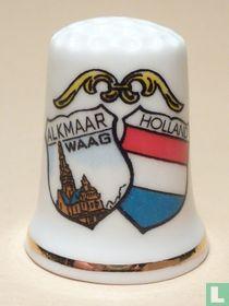 Wapen 2x - Alkmaar + Holland