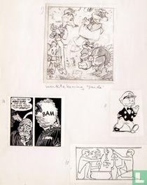 Marten Toonder original sketch