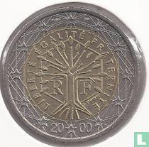 France 2 euro 2000
