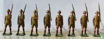 British Infantry in Tropical Dress