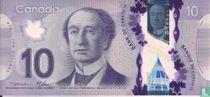 Canada 10 dollars 2013