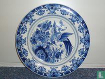 Wandbord Delfts blauw