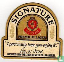 Signature Stroh Premium Lager