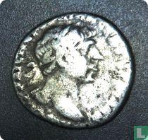 Romeinse rijk, AR Denarius, 98-117 AD, Trajanus, Caesarea / Bostra, 112-117 AD