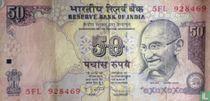 India 50 Rupees 2011 (L)