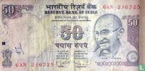 India 50 Rupees 2009